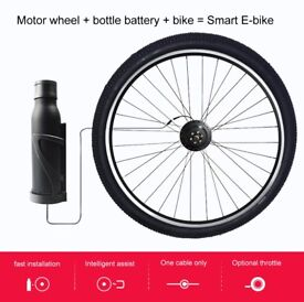 ELECYCLES One cable half-wireless 26inch 700C ebike conversion kit EEKit
