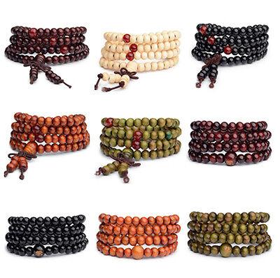 Fashion Men/Women Infinity Multilayer Beaded Charm Bracelet Handmade Jewelry ()