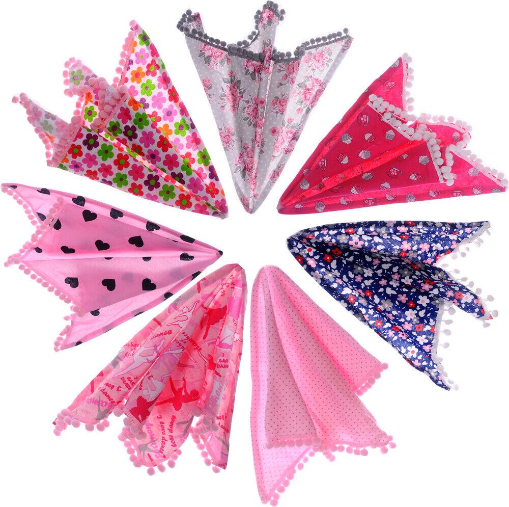 Tuch Baby Kinder Halstuch Sommertuch Schal Blumen Dreieckstuch Kopftuch Mädchen