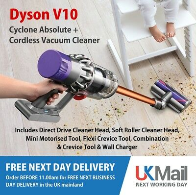 Dyson V10 ABSOLUTE+ Cyclone Cordless Vacuum Cleaner