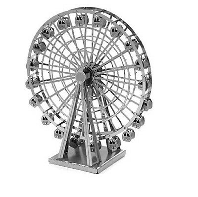 Tenyo Metallic Nano Puzzle Ferris Wheel