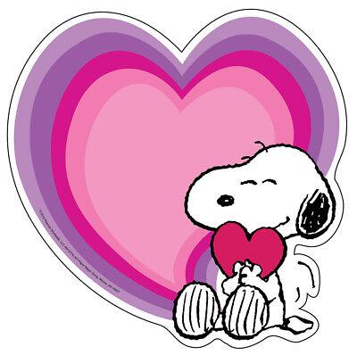 EU 841273 Snoopy Peanuts Hearts Valentines Cut Outs Classroom Decorations (Valentine Classroom Decorations)