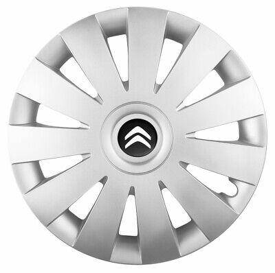 "Citroen Saxo 14/"" Universal Dynamic Wheel Cover Hub Caps x4"