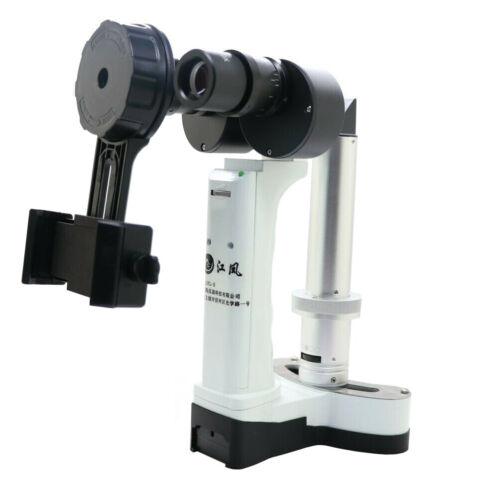 LYL-S Portable Slit Lamp Microscope Slit Lamp for Ophthalmology +Phone holder