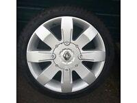 Genuine Renault Clio 182 Sport alloys - Recently refurbed/New tyres 4x100 (megane, scenic, twingo