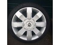 Genuine Renault Clio 182 Sport alloys - Recently refurbed/New tyres 4x100 (megane, scenic, twingo