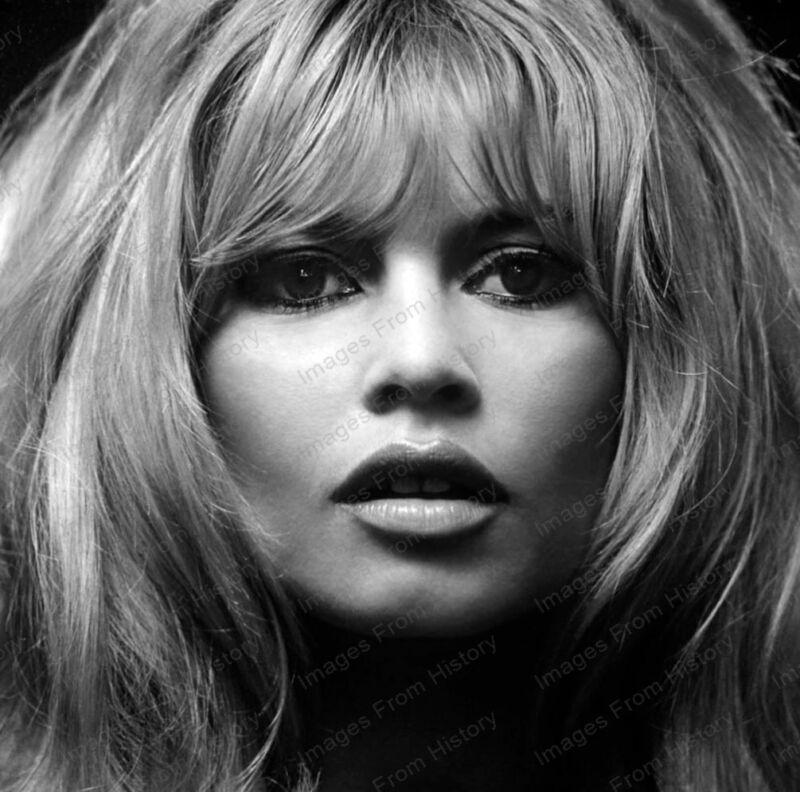 8x10 Print Brigitte Bardot Beautiful Portrait #BB45