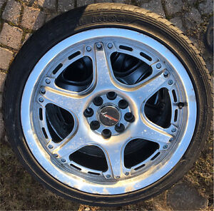 Sport Tire with Alloy Rim for sale. 205/40R17