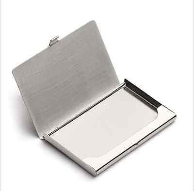Business Name Credit Id Card Holder Box Metal Aluminum Pocket Box Case Av