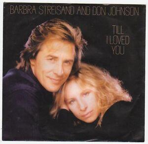 Disque 45 tours de Barbara Streisand (C)