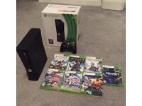 Xbox 360 (4GB) and Games for Sale
