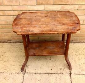 Side table - Mahogany