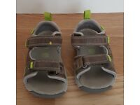 Clarks Air Spring Grey Leather UK 7 G