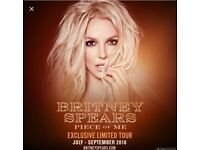6 Amazing floor tickets can post! 25th August london o2 Britney Spears