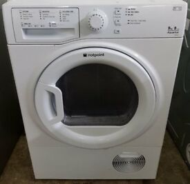 £140 Hotpoint 9KG Condenser Tumble Dryer - 6 Months Warranty