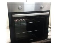 BEKO,STAINLESS STEEL,ELECTRIC FAN OVEN/GRILL. IMMACULATE CONDITION,INSIDE AND OUT.
