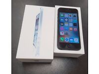 iPhone 5 16GB BLACK SPACE GRAY UNLOCKED BOXED ACCESSORIES SHOP WARRANTY