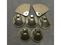 Yamaha Drums - Set of 8 Electronic drum pads for drums or triggering