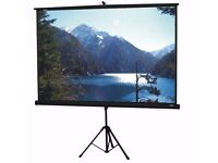 Projection Screen with Tripod (Multi Format)