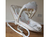 Mothercare Classic-style Winnie the Pooh baby seat with toys and rocker, 0-6 months