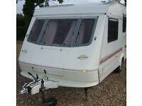 Elddis Knightsbridge 520/4 – 1998 4 Berth End Washroom Single Axle Caravan