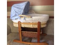 Mothercare Moses Basket Unused