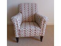Edwardian Armchair for Upholstery
