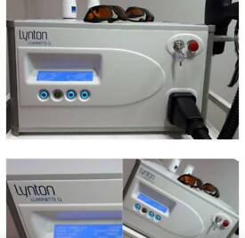 Luminette Q laser tattoo removal system
