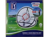 PGA Tour Perfect Touch Practice Chipping Net BRAND NEW With FREE Training DVD Inside