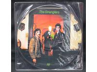 """The Stranglers IV Rattus Norvegicus 1977 12"""" Vinyl Picture Disc LP UAG 30045-P"""