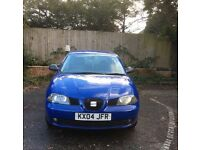 SEAT IBIZA SX 1.2 very low mileage 44000..12months MOT