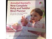 Annabel Karmel baby cook book