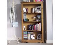 Solid Wood Corona Bookshelf bookshelves - Already built bookcase