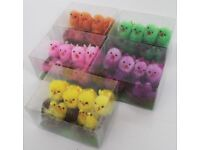 Brand New Children's Kids Craft Art Multi Coloured Mini Easter Chicks Decoration