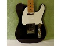Fender Telecaster: USA Standard Tele with original case. Black with Maple neck.