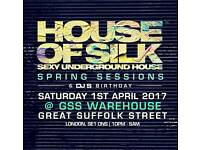 House of silk ticket