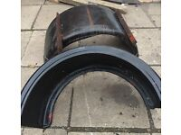 Twin wheel mudguards for Iveco/transit/van etc