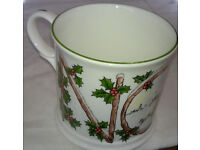 chelson china christmas noel cup