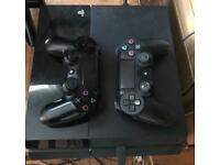 PlayStation 4 + 6 Games (installed)