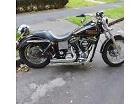 Harley davidson Lowrider 1450cc 2001. Stage one set up, with Santee Exhaust.
