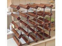 REDUCED Wooden Wine Rack (John Lewis)
