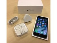 iPhone 6s Space Grey 64g (almost new) immaculate condition.
