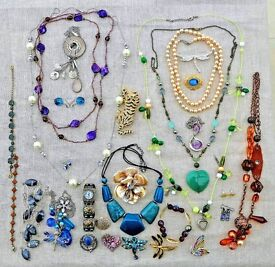 Costume Jewellery for all occasions - around 30 good quality items.