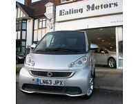 2013 PLATE SMART FORTWO COUPE PASSION,POWER STEERING,SAT NAV,BLUETOOTH,LOW MILES,AIRCON,WARRANTY,CD,