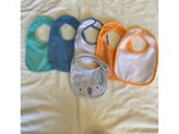 Bundle of 6 Baby Bibs