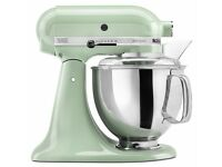 Pistachio Kitchen Aid + Baking Supplies