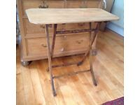 Attractive Folding wooden occasional table