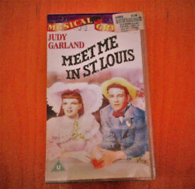 Meet Me In St Louis VHS tape