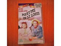 Meet Me In St Louis VHS tape