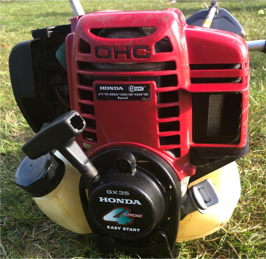 Honda 4 Stroke Commercial Grade Umk435e Strimmer Gx35 Engine John Deere A Batteriesand Wiring Harness Free Suit Gardener Mower